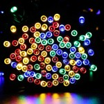 [New Version 200 LED]LuckLED Solar Powered LED Christmas Lights, 72ft Fairy Starry String Lights with Light Sensor for Outdoor, Gardens, Patio, Wedding, Christmas Party and Holiday decor(Multi-Color)