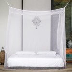 Even Naturals® Mosquito Net | Double Bed Canopy Bed Curtains | Fly Screen Mesh Netting | Insect Barrier Malaria Repellent | LIFETIME GUARANTEE | Bonus Carry Pouch, Hanging Kit & eBook | Home & Travel