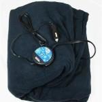 Maxsa Automotive Comfy Cruise 12 Volt Heated Travel Blanket-Navy
