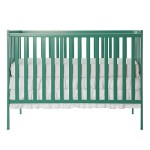 Dream On Me Synergy5-in-1 Convertible Crib, Emerald, 35 Pound