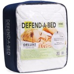 Classic Brands Defend-A-Bed Deluxe Quilted Waterproof Mattress Protector, Twin Extra Long Size