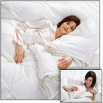 "Luxurious ALL-SEASON WINTER Weight DOWN Comforter is Created by Snapping 2 of These ""EQUINOX"" SUMMER LIGHT WEIGHT Down Comforters. Thanks to the Exclusive Smart Snap System. Use Each Separately or Simply Snap Together Two- King 22 oz Equinox Summer Light Weight Down Comforters, and Now Enjoy Your Winter Weight 44 oz. Double Layer of Luxury . Filled with Hypoallergenic Real Pure Down, This is NOT a Down Alternative Comforter. Available in a 12 oz Twin, 16 oz Queen, and 22 oz King (This Listing is for one-22 oz. California King 106″x 94″)"