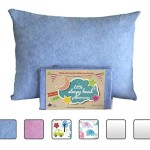 Toddler Pillowcase – Made for Little Sleepy Head Toddler Pillow 13 X 18 – 100% Cotton – Naturally Hypoallergenic – Made in USA! (Blue Marble)
