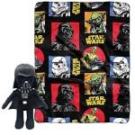 Disney Star Wars Toddler Plush Throw Blanket and Cuddle Pillow Set