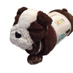 Little Miracles, Snuggle Me Sherpa 2- Piece Blanket and Plush Set, Blanket 30 Inches X 45 In. 100% Polyester Fill