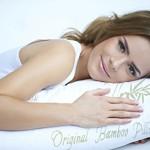 Adjustable Shredded Memory Foam Bamboo Pillow – Original Bamboo – Queen