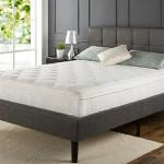 Sleep Master iCoil 12 Inch Euro Box Top Spring Mattress, Queen