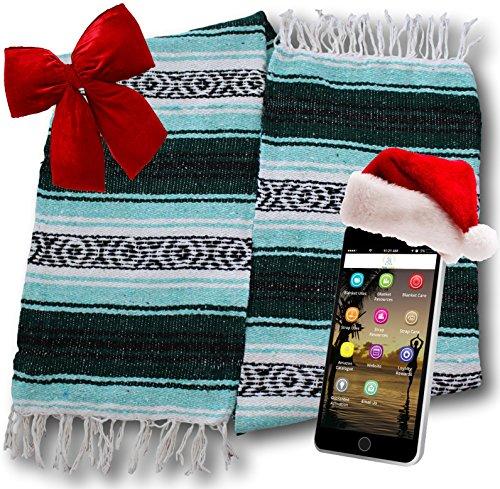 Yogi Yoga Premium Mexican Bed Blanket