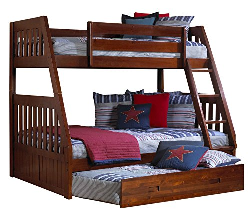 Discovery World Furniture Twin Over Full Bunk Bed With