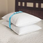 Comforzen Memory Foam Cluster Standard 2 Pack Bed Pillow Set Pillows BRAND NEW