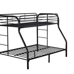 Twin Over Full Bunk Bed by Nova Furniture Group, Black