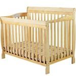 Dream On Me Ashton 5 in 1 Convertible Crib, Natural