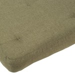 Wolf Chestnut Futon Mattress, Full, Meadow Green