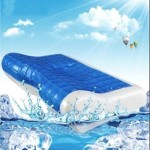 Cooling Gel Memory Foam Pillow – eliminates neck and back pain, ensuring a good night's sleep