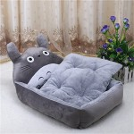 BigBig Home Short Plush Keep Warm Cartoon Appearance Hypoallergenic Rectangular Dogs&Cats Bed(4 Colors and 3 Sizes)
