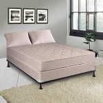 Continental Sleep Hollywood Collection 9″ Fully Assembled Othopedic Mattress and Box Spring, Queen
