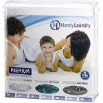 Handy Laundry Premium Mattress Protector 100% Waterproof – Breathable Soft Cotton Terry Cover – Blocks Dust Mites & Allergens – Superior Quality – Hypoallergenic-10 Year Warranty Vinyl Free (Full)
