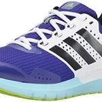 adidas Performance Women's Duramo 7 W Women's Running Shoe, Night Flash Purple/Silver/Yellow, 8 M US