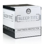 SLEEP TITE Hypoallergenic 100% Waterproof Mattress Protector – 15-Year Warranty – Vinyl Free – RV/Short Queen Size