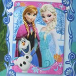 Disney Frozen Anna, Elsa and Olaf Printed Soft Fleece Bed Blanket/ Throw
