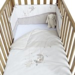 Clair de Lune Bedtime Story Cot/ Cot Bed Quilt and Bumper Set by Clair de Lune