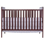 Dream On Me, Classic  2 in 1 Convertible Crib, Cherry
