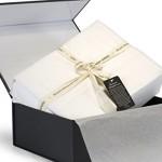 Thomas Gene, 100% Egyptian Cotton – Luxury – 1000 Thread Count – Deep Pocket – Sateen – Sheet Set (Queen, White)