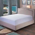 Bedsure Quilted Hypoallergenic 100% Waterproof Antibacterial Breathable Mattress Protector – 10 Year Warranty Queen Size Vinyl Free