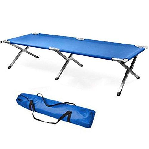 World Pride Single Aluminum Portable Folding Camping Bed