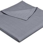 Pinzon Signature Zero-Twist Egyptian Cotton Blanket – Full/Queen, Grey