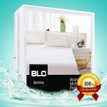 Mattress Protector Premium 100% Waterproof / Bed Bug Proof Breathable Noiseless Mattress Encasement Pad, All Sizes Fit Up To 21″ (Waterproof, Full)