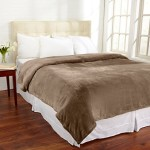 Valerie Collection Ultra Velvet Plush All-Season Super Soft Fleece Blanket. Use as a Lightweight Warm Bed Blanket Year Round. By Home Fashion Designs. (King, Pine Bark)