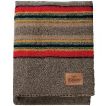 Pendleton Twin Camp Blanket – Mineral Umber