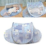 Baby Mosquito Tent Travel Infant Bed Net Instant Crib Polyester Mesh New Portable Safe Travel Mini Tent.