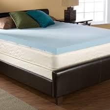 2 Inch Twin XL Size Accu-Gel Infused Visco Elastic Memory Foam Mattress Topper Made in the USA by Accutex Foam USA