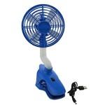 E-joy® Portable Flexible Rotating Neck Fan Desktop Clip Fan USB Charging Rechargeable Clip-on Fan