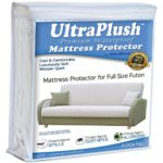 UltraPlush Premium Futon Full Size Waterproof Mattress Protector – Super Soft Quiet Cover