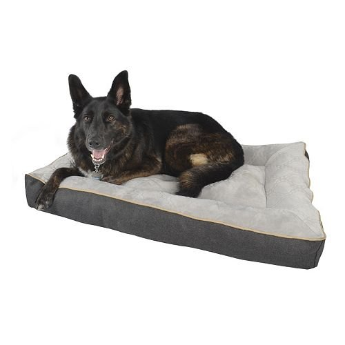 Petspaces Mattress Pet Bed for Large Dogs 35-64 lbs. 27″ x 40″