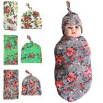 Quest Sweet Newborn Swaddle,Swaddle Cocoon,Blanket&Headband Set (1-3 Pack)