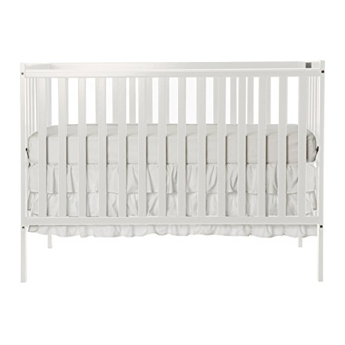 Dream On Me Synergy5 in 1 Convertible Crib, White