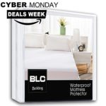 Balichun Waterproof Mattress Pad Protector Cover (Fitted 8″ – 21″ Deep Pocket) – Cal King Size