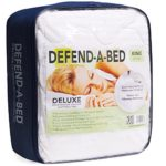 Classic Brands Defend-A-Bed Deluxe Quilted Waterproof Mattress Protector, Twin Size