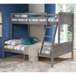 Donco Louver Twin over Full Bunk Bed