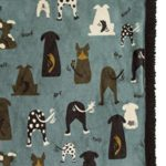 ULTRA PAWS – WARM SOFT SHERPA DOG PET BLANKET – 30 X 40 – ALL COLORS (Waggers Blue)