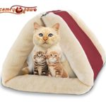 Pet Bed and Mat – Cuddly Self Heated – Washable Comfy House for Kittens, Cats, Dogs & Puppies – Get The Most Warm Cozy & Comfortable Shelter for your Animal
