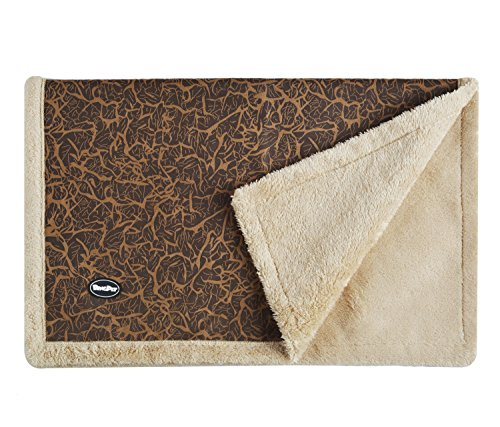 Fleece Pet Throw Blanket for Dog Puppy Crate Sofa Small 21″27″