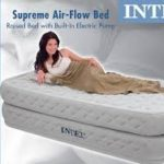Intex, Supreme Air- Flow Airbed, Twin Ideal for Travelers Who Want the Comforts of a Bed but the Convenience of a Blow-up Mattress