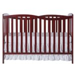 Dream On Me Chelsea 5-in-1 Convertible Crib, Cherry, 37 Pound