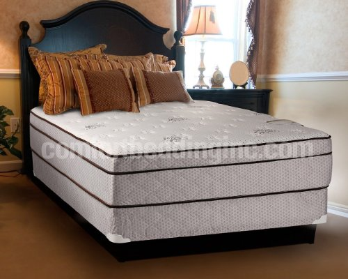Dreamy Rest Pillow Top (Euro Top) Queen Size Mattress and Box Spring Set