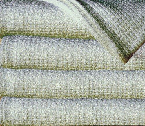 Sun Yin 100-Percent Cotton Full/Queen Blanket, Light Green